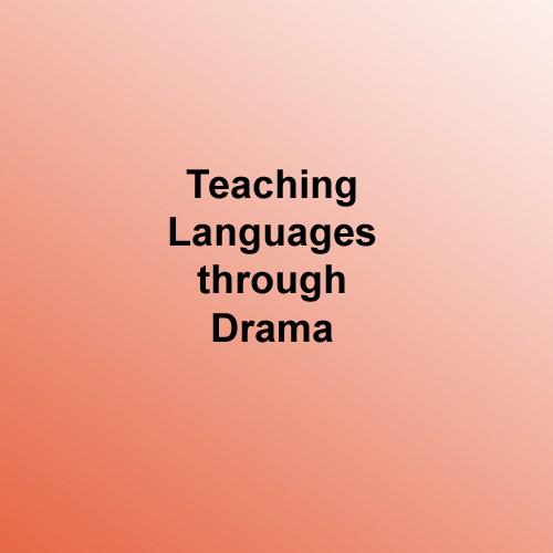 teaching languages through the drama
