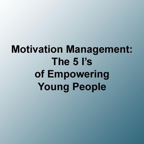 motivation management course